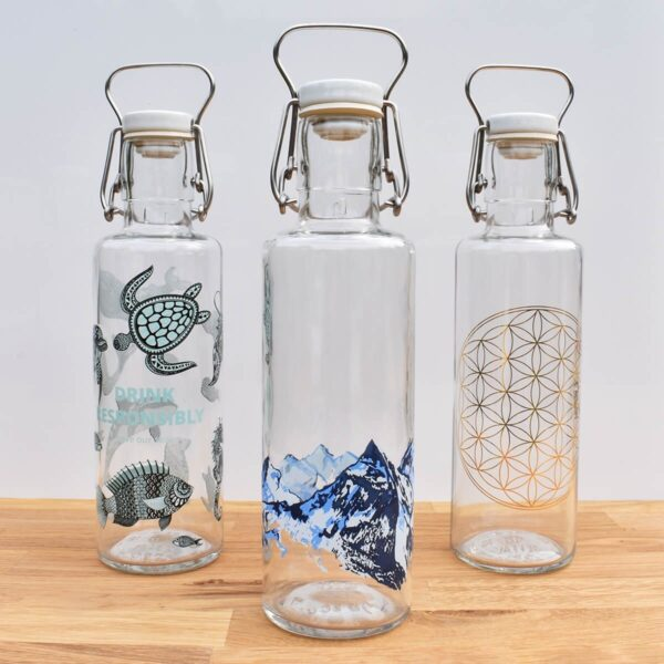 Soul Collection Of Glass Water Bottles
