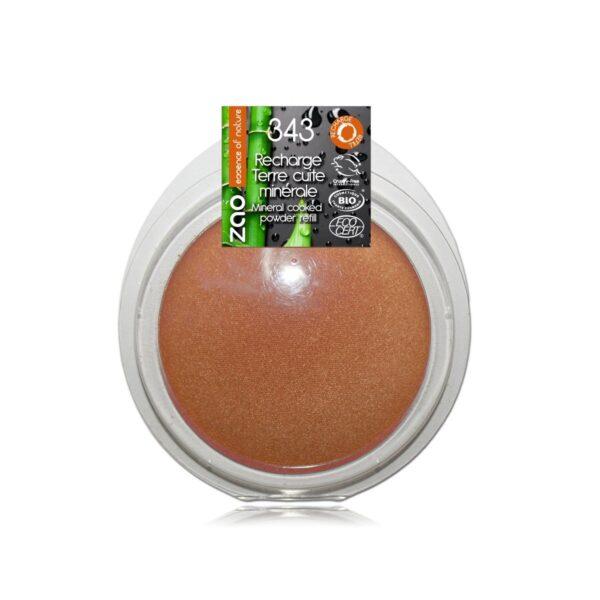 Zao Golden Bronze Cooked Powder Refill