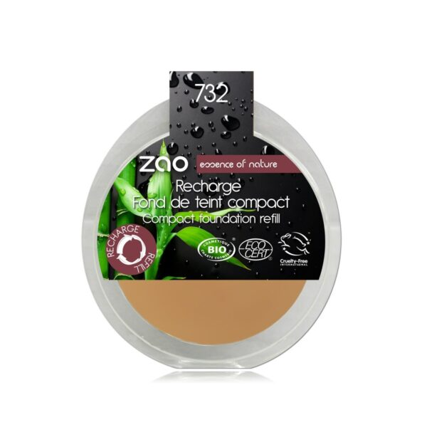 Zao Rose Petal Compact Foundation Refill