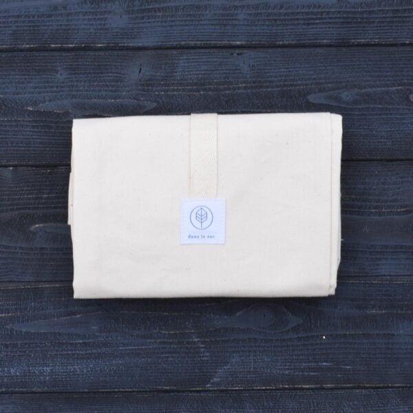 Dans Le Sac Cotton Baguette Bag Folded