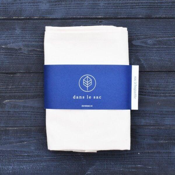 Dans Le Sac Cotton Baguette Bag Folded With Packaging