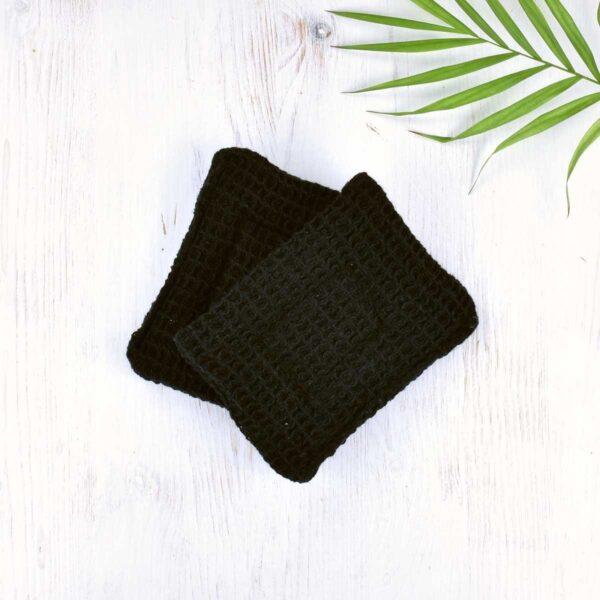 Black Cotton Non Sponge