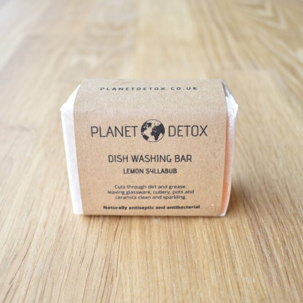 Planet Detox Lemon Syllabub Dish Washing Soap Bar