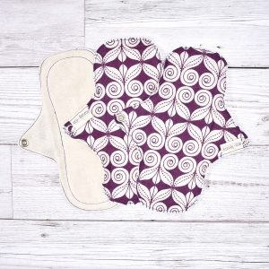 Eco-Femme Organic Cotton Panty Liners , Swirls 3 Pack