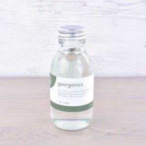 Georganics Oil Pulling Mouthwash, dental care, dental hygiene, vegan friendly, mouth wash, tea tree,