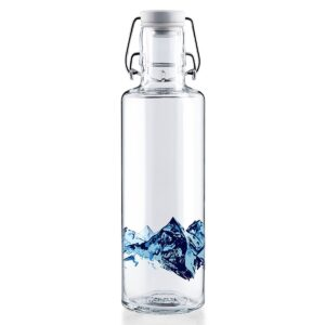 Soul Alpenblick Glass Water Bottle