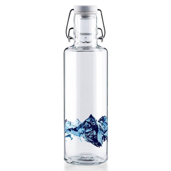 Soul Alpenblick Glass Water Bottle