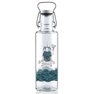 Soul Soul Sailor Glass Water Bottle