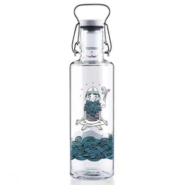 Soul Soul Sailor Glass Water Bottle
