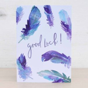 Stefanie Lau Eco-friendly Greetings Card Good Luck
