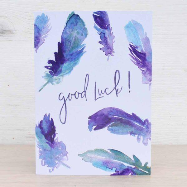 Stefanie Lau Eco-friendly Greetings Card Good Luck