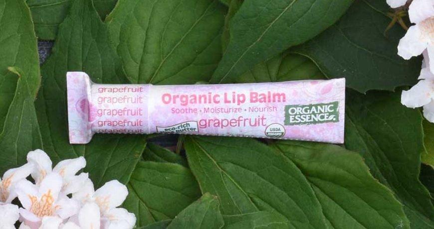 Organic Essence lip balm