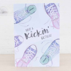 Stefanie Lau Eco-friendly Greetings Card Have A Kickin Birthday