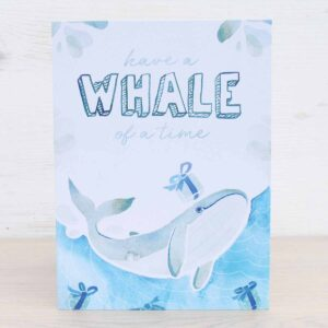 Stefanie Lau Eco-friendly Greetings Card Have A Whale Of A Time