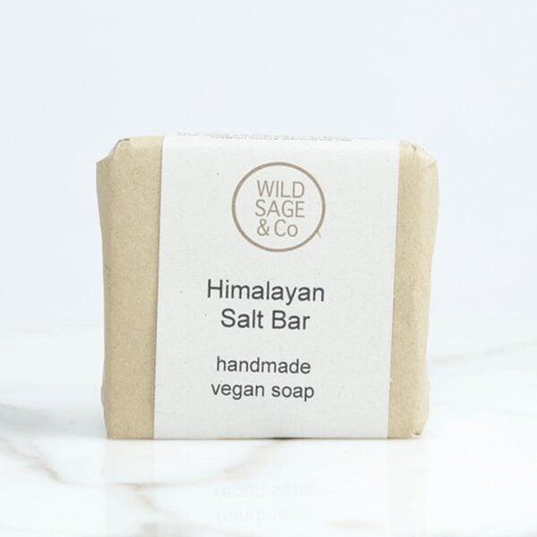 wild sage & co Himalayan salt Soap Bar, natural soap bar packaging,