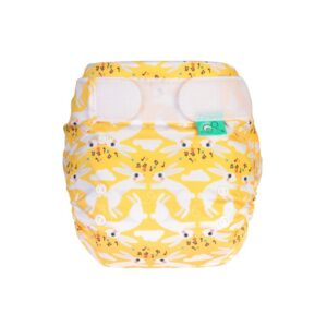 Totsbots Cloth Little Bunny Print Nappy All in 1 Easy Fit Star