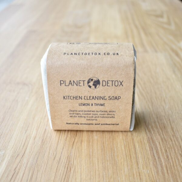 Planet Detox Kitchen Cleaning Soap Bar