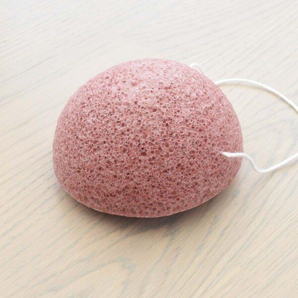 Tabitha Eve Pink Konjac Sponge