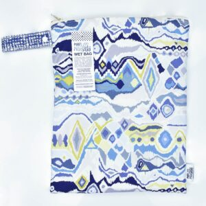 Marley's Monsters Large Nappy Wet Bag With Abstract Print