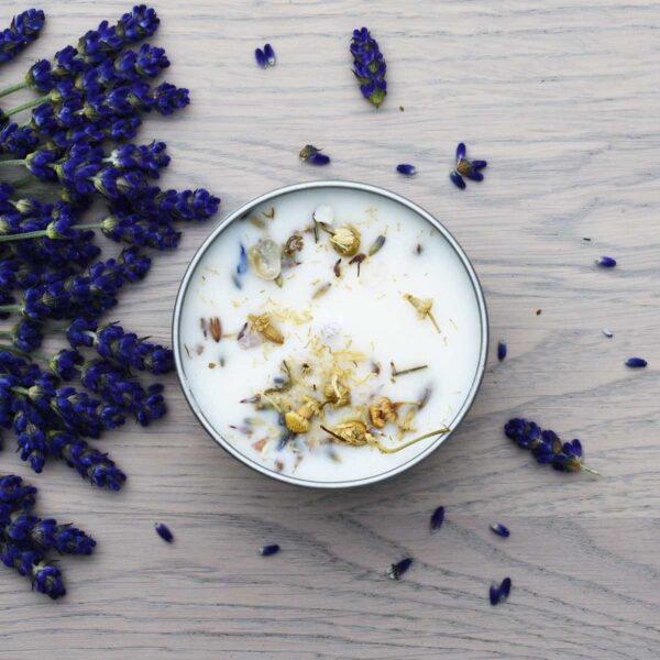 Witchwood Lavender & Chamomile Soy Wax Candle