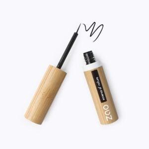 Zao Black Liquid Eyeliner And Wand