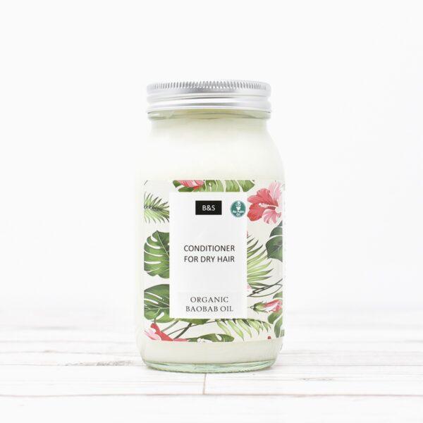 Bain & Savon Dry Hair Liquid Conditioner In Glass Jar