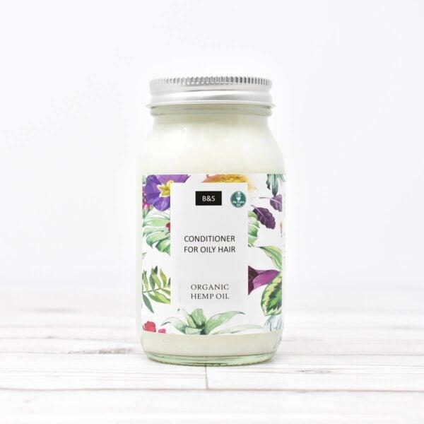 Bain & Savon Oily Hair Liquid Conditioner In Glass Jar