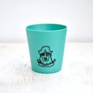 Hydrophil Green Children's Liquid Wood Toothbrush Mug