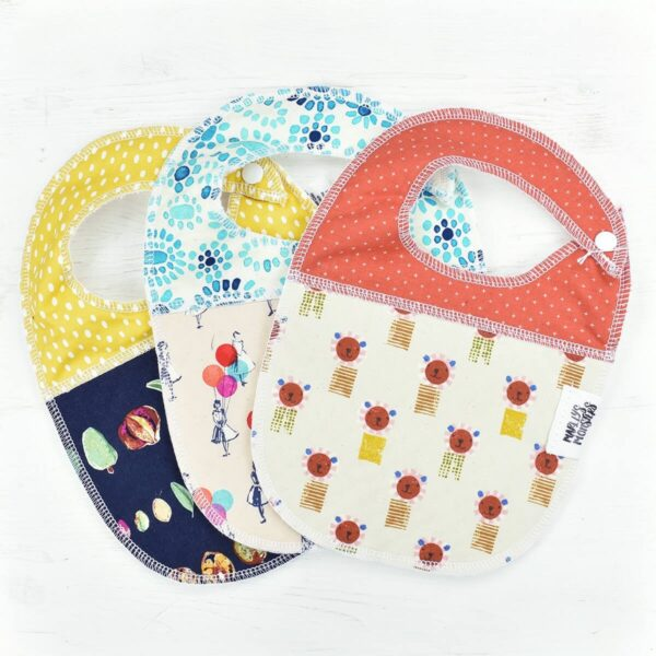 Selection of Marley's Monsters Baby Bibs