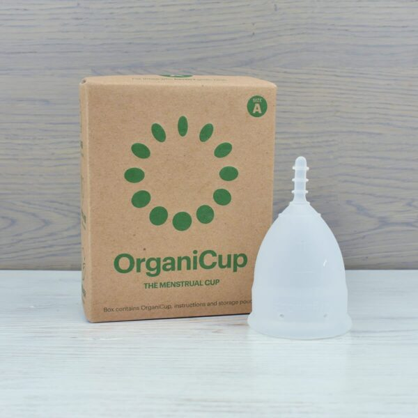 OrganiCup ,Menstrual Cup with box,