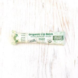 Organic Essence Mint Organic Lip Balm