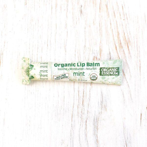 Organic Essence Mint Organic Lip Balm