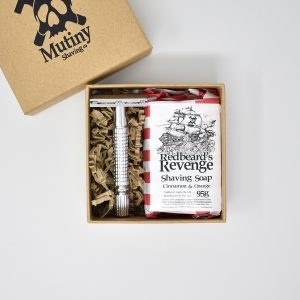 Mutiny Mini Safety Razor Kit Cinnamon & Orange