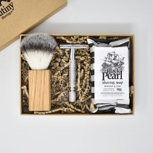 Mutiny Rosemary & Lime Safety Razor Kit Gift Set