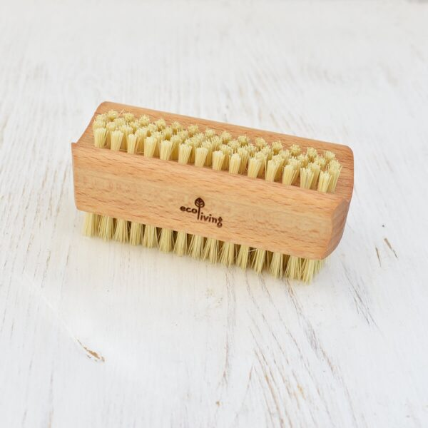 Eco Living Natural Bristle Nail Brush