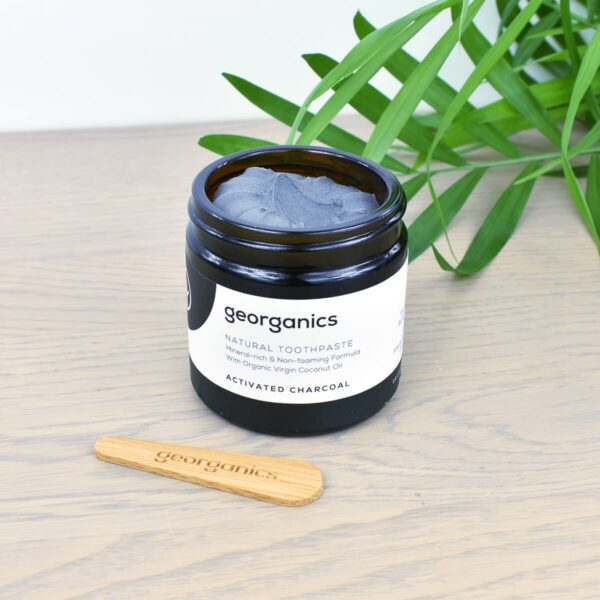 Georganics Toothpaste , dental care, dental hygiene, vegan friendly, toothpaste, Fluoride free, natural toothpaste, charcoal,