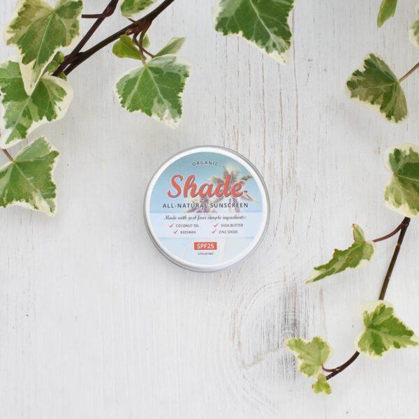 Shade All Natural Sunscreen SPF 25 15ml Tin