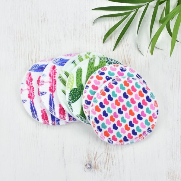Marley's Monsters Cotton Nursing Pads In Mixed Prints Loose