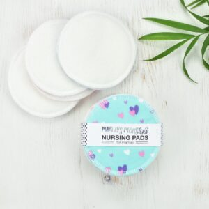 Marley's Monsters Cotton Nursing Pads In White and Mixed Prints