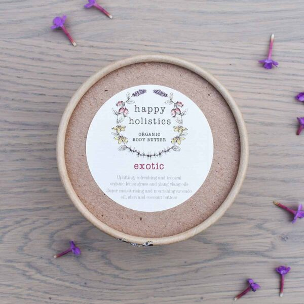 Happy Holistics Exotic Organic Body Butter