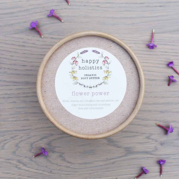 Happy Holistics Flower Power Organic Body Butter