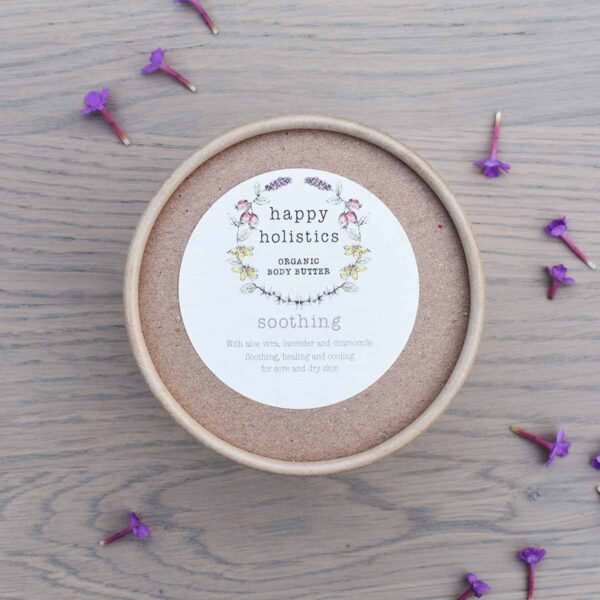 Happy Holistics Soothing Organic Body Butter