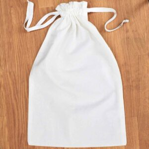 Tabitha Eve Extra Large Organic Cotton Drawstring Bag