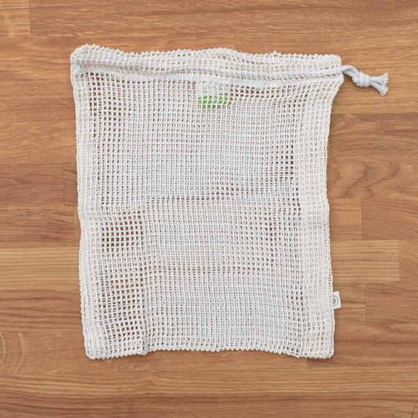 A Slice of Green Medium Sized Organic Cotton Net Produce Bag