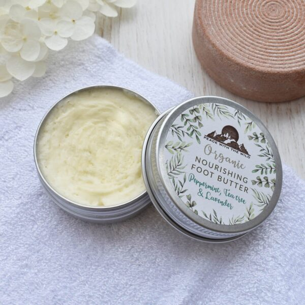 Peace With The Wild Organic Nourishing Foot Butter And Foot File