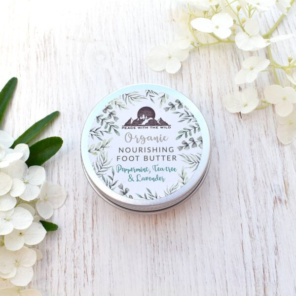 Peace With The Wild Organic Nourishing Foot Butter