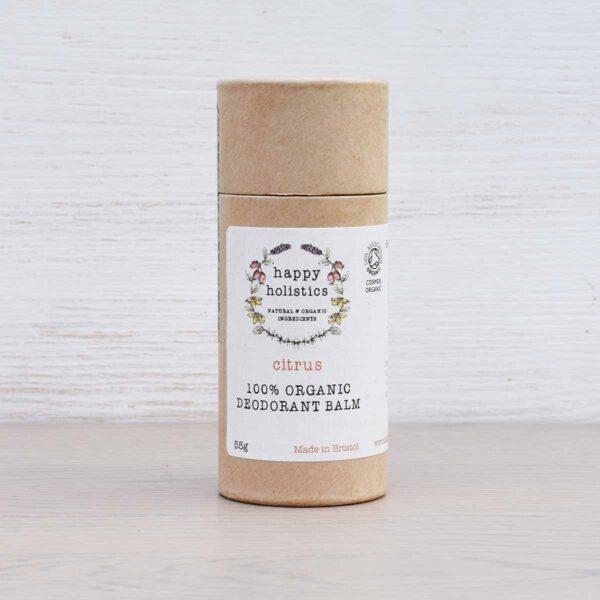 Happy Holistics Citrus Organic Deodorant Balm