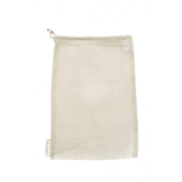 A Slice of Green Organic Cotton Nut Milk Bag Open