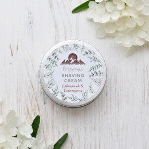 Peace With The Wild Cedarwood & Lemongrass Organic Shaving Cream