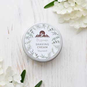 Peace With The Wild Unscented Organic Shaving Cream